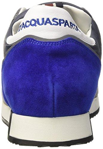 DAcquasparta Cosimo, Sneaker a Collo Basso Uomo Grigio (Nylon Grigio)