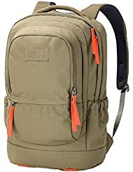 Jack Wolfskin Road Kid Pack Rucksack, Burnt Olive, 20 L