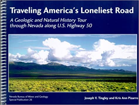 Loneliest Road In America Map.Traveling America S Loneliest Road A Geologic And Natural History
