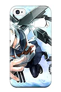 Worley Bergeron Craig's Shop anime kantai collection hibiki flight chain Anime Pop Culture Hard Plastic iPhone 4/4s cases