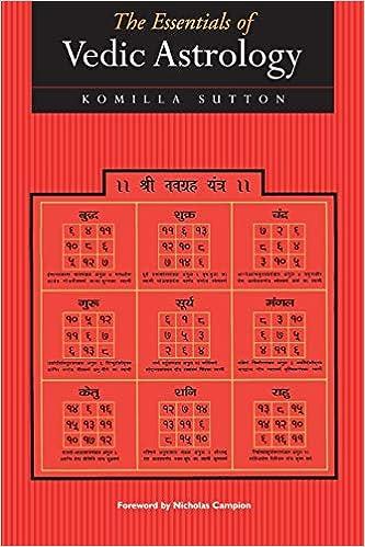 The Essentials Of Vedic Astrology Sutton Komilla 9781902405063 Amazon Com Books
