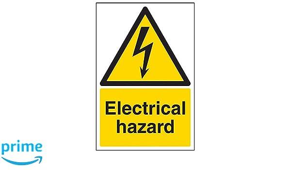 VSafety 68018AU-R - Señal de peligro eléctrico (3 unidades ...
