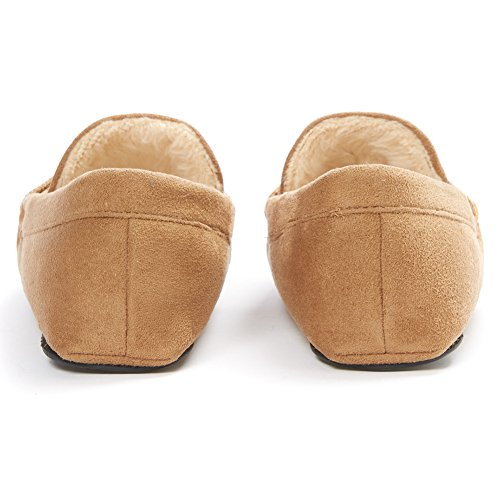 YOUTOUCHLIFE Men's House Thinsulate Stone Shoes Slippers Anti slip Moccasin qqxrndYwC