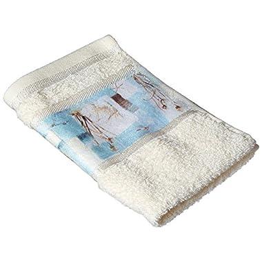 Avanti Blue Waters Hand Towel, Multicolored