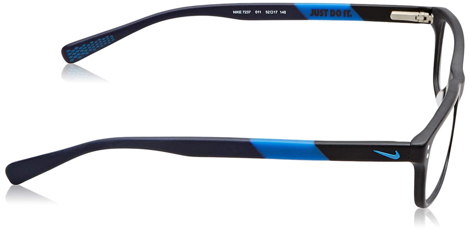 Eyeglasses NIKE 7237 011 MATTE BLACK-PHOTO BLUE