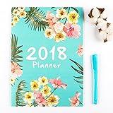 #5: 2018 Monthly Planner,Distana Calendar Schedule Organizer and Journal Notebook