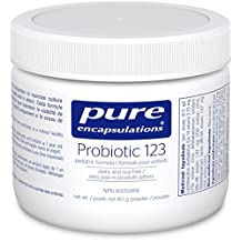 Pure Encapsulations - Probiotic 123 - Pediatric Dairy Free & Soy Free Formula to Support Gastrointestinal and Immune Health - 80 Grams