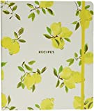 Kate Spade New York 173533 Lemon Recipe Book, Bright Yellow
