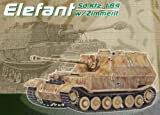 : DRAGON ARMOR 1/72 Scale Prefinished Fully-Detailed Model, German Sd.Kfz.184 Elefant, sPzJgAbt 653 #232, Russia/Poland 1944 60053