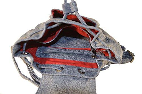Fritzi aus Preußen, Borsa a zainetto donna jeans 2D