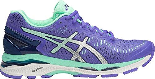 ASICS Womens Gel-Kayano 23 Running Shoe, Purple/Silver/Mint, 10 B(M) US by ASICS (Image #3)
