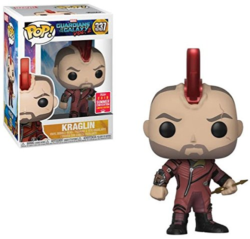 Funko Pop! Marvel #337 Guardians of The Galaxy Vol. 2 Kraglin (2018 Summer Convention Exclusive)