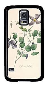 Samsung Galaxy S5 nature flower colorful 16 PC Custom Samsung Galaxy S5 Case Cover Black