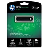 HP v100w 8 GB USB 2.0 Flash Drive P-FD8GBHP100-EF