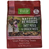 VitaLife Jerky Dog Treats - Natural, Grain Free, Sweet Potato & Chicken, 908 g