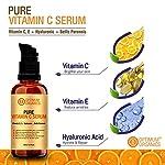 Optimum Organics Vitamin C Serum With Hyaluronic Acid 30% For Face, Body, Skin Whitening And Acne Prone Skin