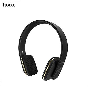 Hifuture Auriculares Bluetooth negro con auriculares inalámbricos con Bluetooth, flexible, portátil, ajustable, HD, estereofonía activa, cancelación de ...