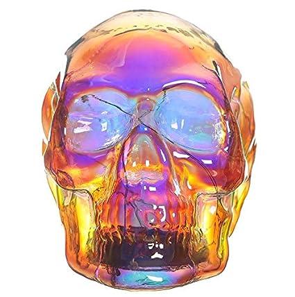 4b279532701ba7 bick.shop LED Totenkopf Skull Totenschädel inkl. 4 Batterien Coole Deko  Gothic schädel: Amazon.de: Küche & Haushalt