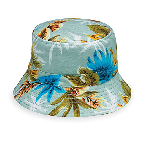 wallaroo Children's Maui Sun Hat - UPF 50+ - Crushable, Seafoam -