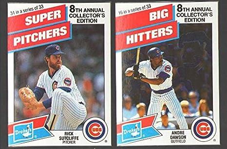 more photos c3771 d3299 Amazon.com: 1988 Drake's Big Hitters Super Pitchers ...