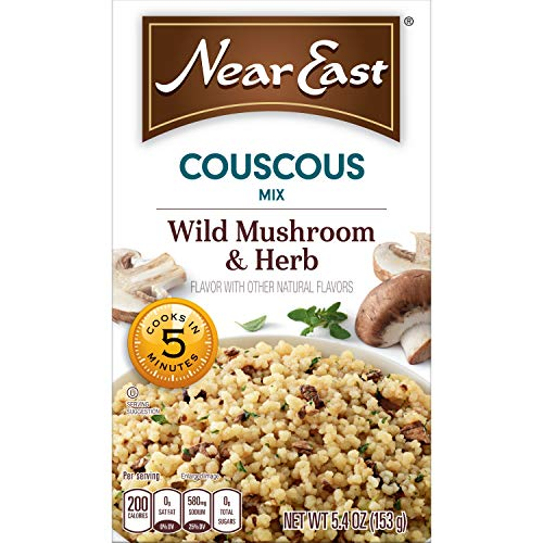 - Near East Wild Mushrooms and Herbs Couscous Mix, 5.4 Ounce