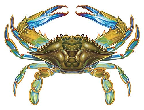 - Blue Crab Porcelain Swimming Pool Mosaic (11