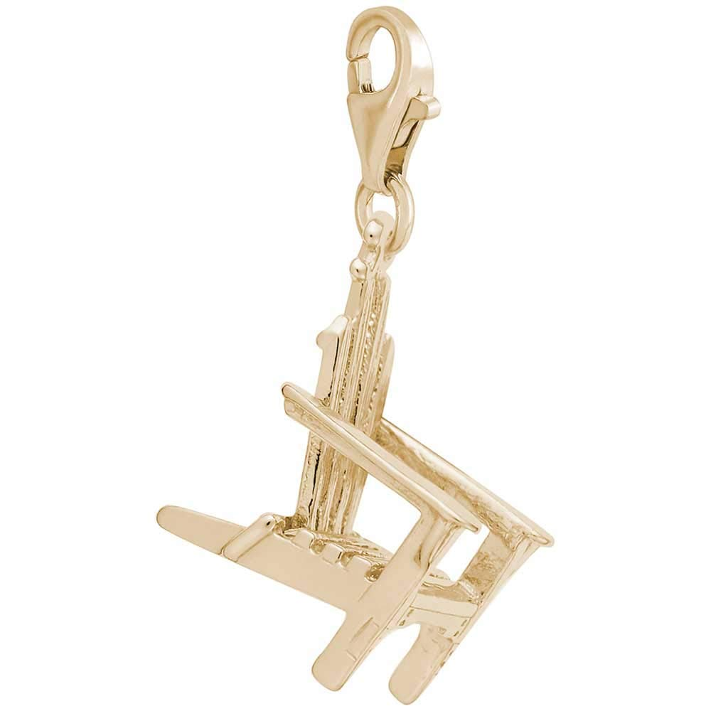 Rembrandt Charms Adirondack Chair Charm with Lobster Clasp