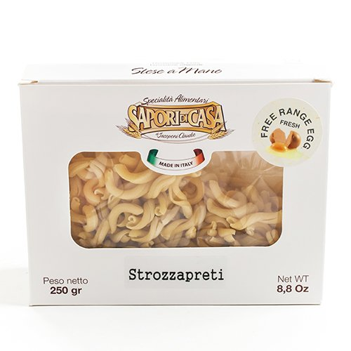 Sapori Di Casa Strozzapreti with Free Range Eggs (8.8 ounce) (Pasta Di Casa compare prices)