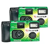 Fujifilm QuickSnap Flash 400 Compact Film Camera 35 mm - Cámara (Compact Film Camera, 35 mm)