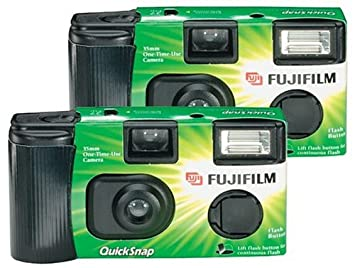 Fujifilm Quicksnap Flash 400 Single Use Camera With 2 Pack Discontinued