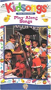Amazon.com: Kidsongs: Play-Along Songs [VHS]: Movies & TV
