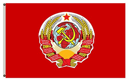 Flylife Large Flag Soviet Union, from 1923-07-06 to 1923-11-12 Flag 3x5ft banner