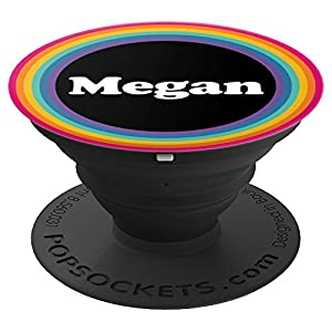 Megan Name Your Name Custom Name Personalized Name - PopSockets Grip and Stand for Phones and Tablets