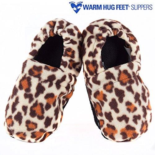 CHAUSSONS / pantoufles pour MICRO-ONDE WARM HUG FEET