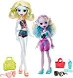 Limited Time Offer on Monster High Monster Family Lagoona Blue and Kelpie Blue Dolls, 2 Pack.