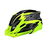 Cheap CCTRO Adult Cycling Bike Helmet, Eco-Friendly Adjustable Trinity Men Women Mountain Bicycle Road Bike Helmet Safety Protection (C Green+ Black)
