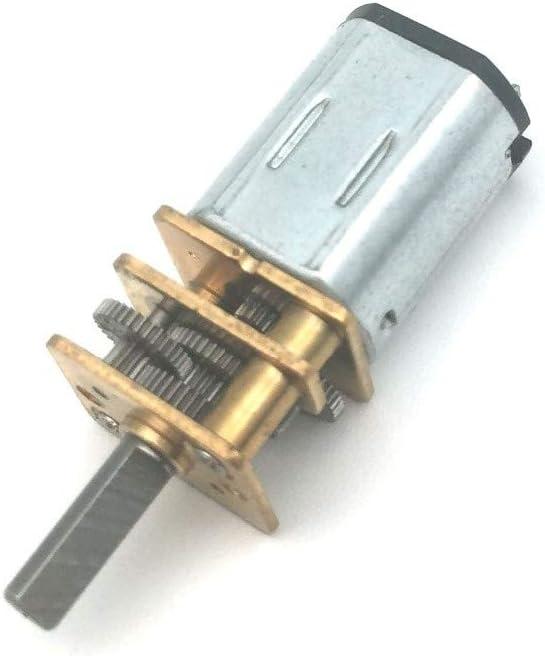 1000RPM N20 Micro Speed Gear Moteur DC 6V 12V Moteur /électrique R/éducteur Voiture Robot R/éducteur Moteur F-MINGNIAN-TOOL Couleur : 1000RPM, Taille : 6V 1pc 500rpm