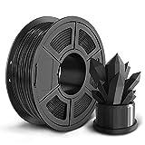 SUNLU PLA 3D Printer Filament, 1.75mm PLA Filament, 2.2LBS (1KG) 3D Printing Filament for 3D Printers 3D Pen, Black