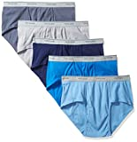 Fruit of the Loom Men's Fashion Briefs - Colors May Vary, Assorted, Fashion,Small(Pack of 5)