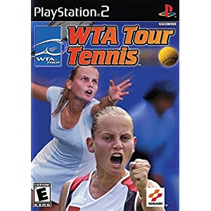WTA Tour Tennis PS2