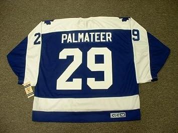 MIKE PALMATEER Toronto Maple Leafs 1978 CCM Vintage Throwback Away NHL  Hockey Jersey 25037e5c289