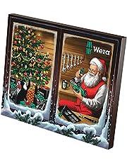 Wera '05136602001 kalendarz adwentowy 2021, 24-częściowy