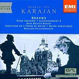 Karajan Conducts Brahms: Piano Concerto 2 by Brahms (2004-01-01)