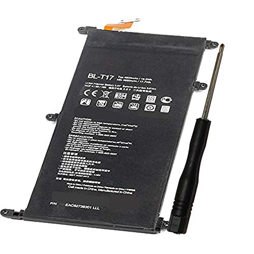 Powerforlaptop Internal Replacement BL-T17 Battery for LG G Pad X 8.3, VK815, V520, G Pad X 8.0 LTE,V522, G Pad III 8.0 EAC6278301 BLT17 (Lg G Pad Best Price)