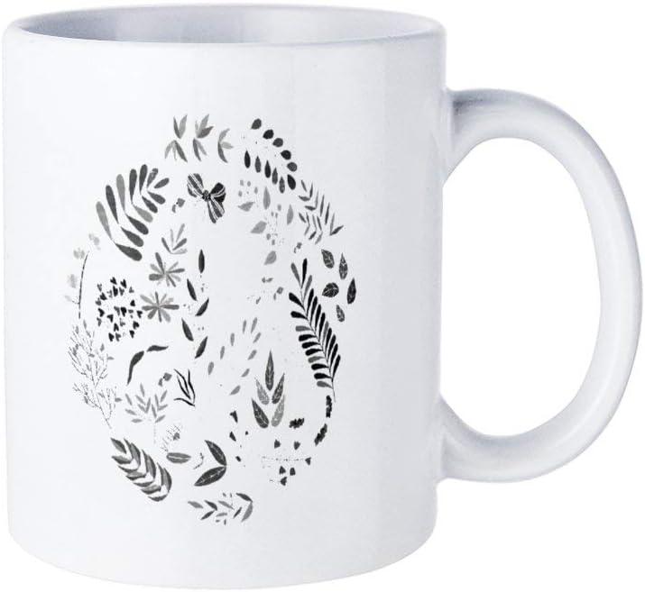 Funny Coffee Mug,Herbs Flower Nature Summer Outdoor Garden Mug for Housewarming Office Bar birthday Custom Mug,11oz Mug Best Personalised Present to Your Friend Lover Family
