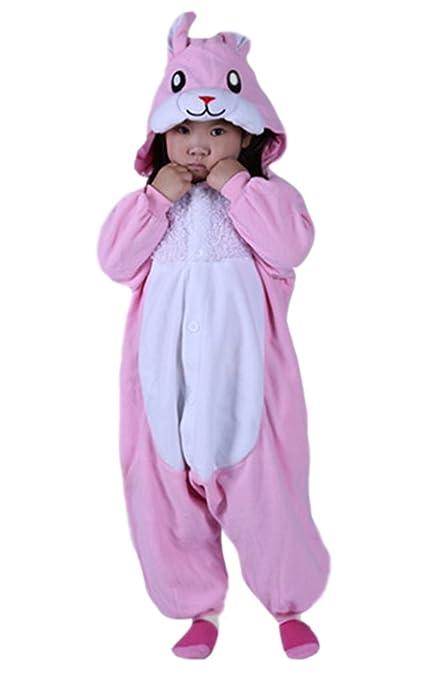DATO Niños Animal Ropa de Dormir Conejo Cosplay Disfraces Pijamas: Amazon.es: Ropa y accesorios