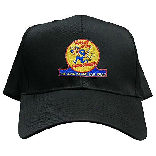 Daylight Sales Long Island Railroad Dashing Dan Embroidered Hat [hat85] Black
