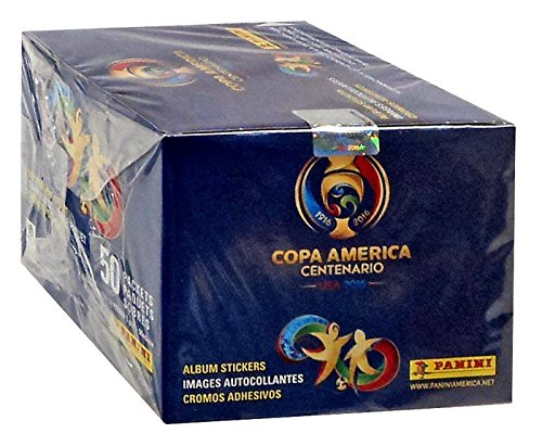 USA 2016 Copa America CENTENARIO Panini complete 50 packs box , Total of 350 stickers from Panini