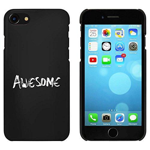 Noir 'Awesome' étui / housse pour iPhone 7 (MC00066839)