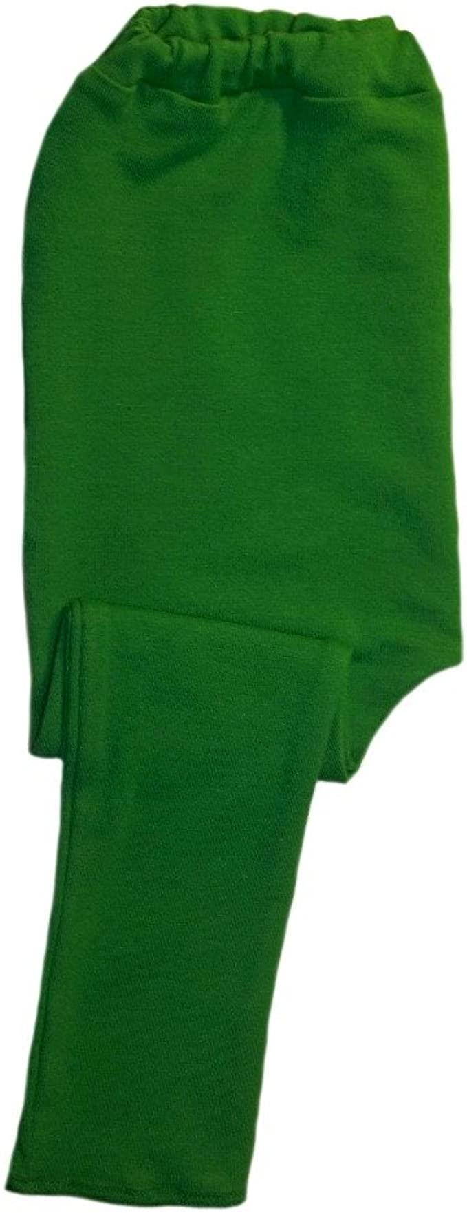 Jacquis Baby Girls Kelly Green Cotton Spandex Knit Tights